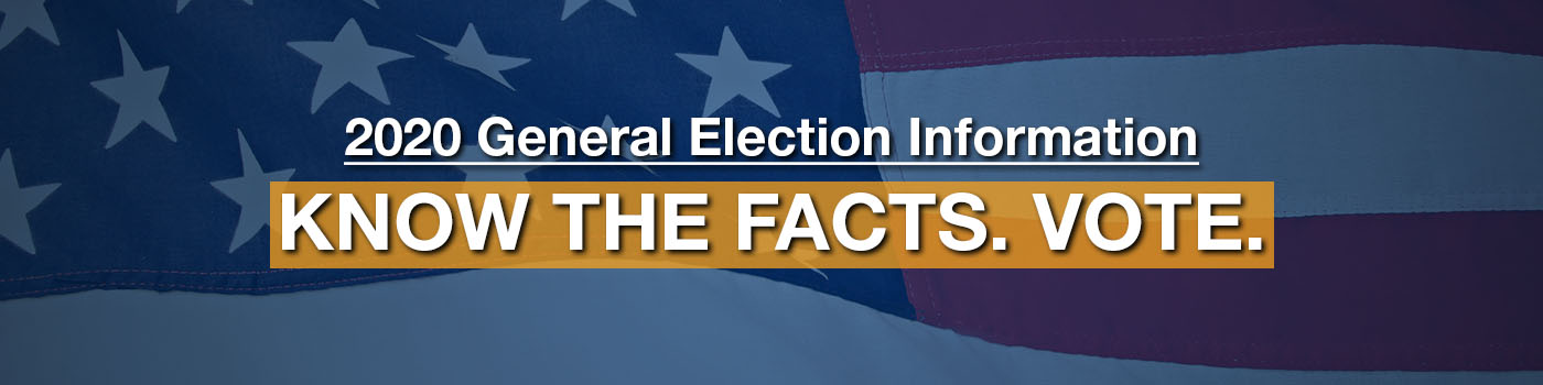 2020 West Virginia General Election Information