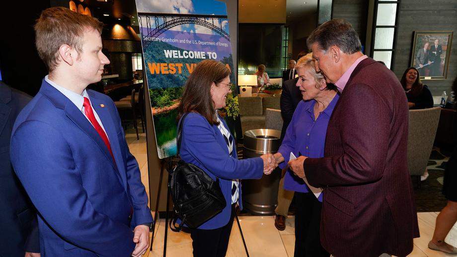 Sen. Manchin Hosts Energy Secretary Jennifer Granholm in West Virginia - Day 1
