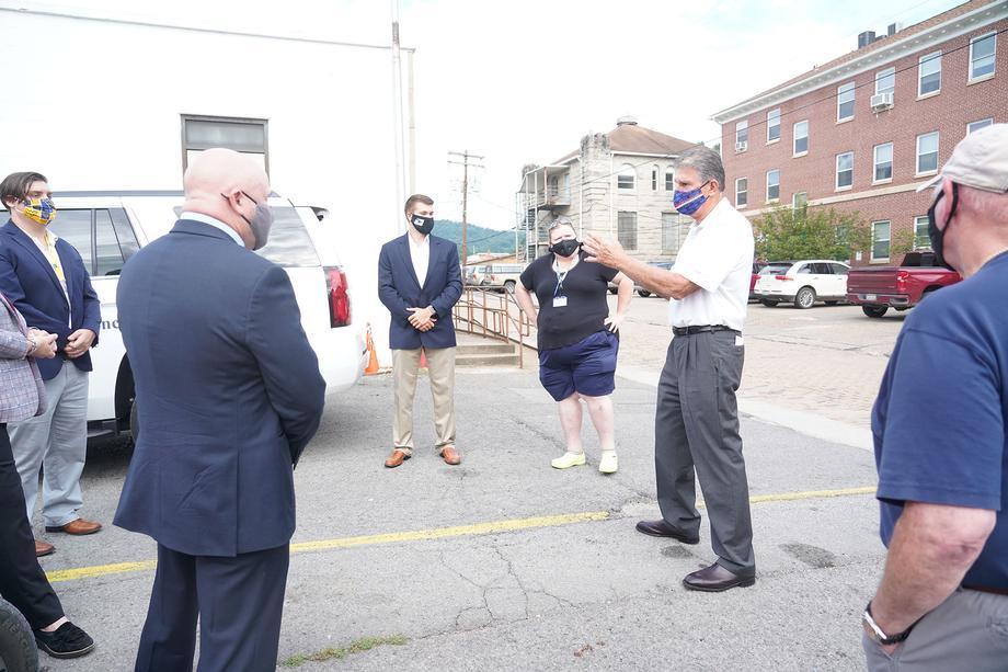 Sen. Joe Manchin Tours U.S. Post Office Facilities Throughout West Virginia