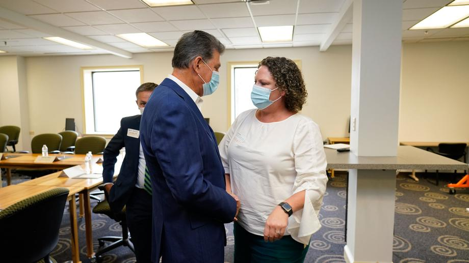 Manchin Welcomes U.S. Assistant Secretary of Commerce for Economic Development Alejandra Castillo To West Virginia