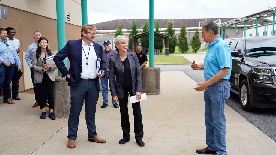 Sen. Manchin Hosts Energy Secretary Jennifer Granholm in West Virginia - Day 2