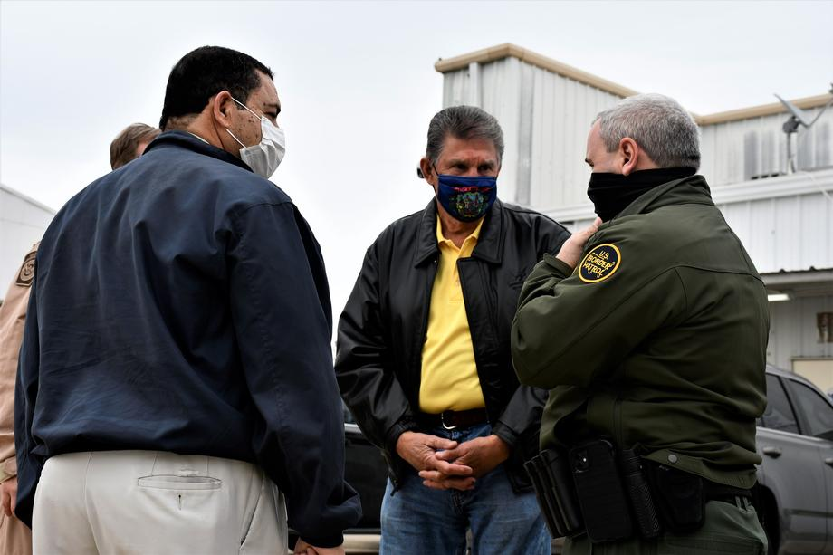Manchin, Cuellar Visit U.S.-Mexico Border