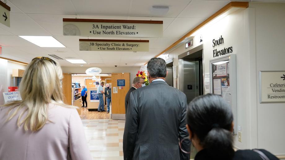 Sen. Manchin, VA Secretary Denis McDonough Visit Clarksburg VA Medical Center
