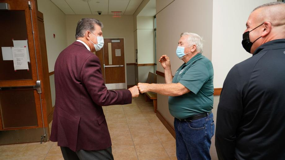 Manchin Attends Drinking Water, Wastewater Infrastructure Field Hearing in Beckley