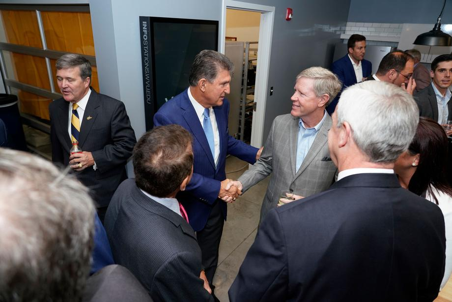 Sen. Joe Manchin Attends Vantage Ventures Opening